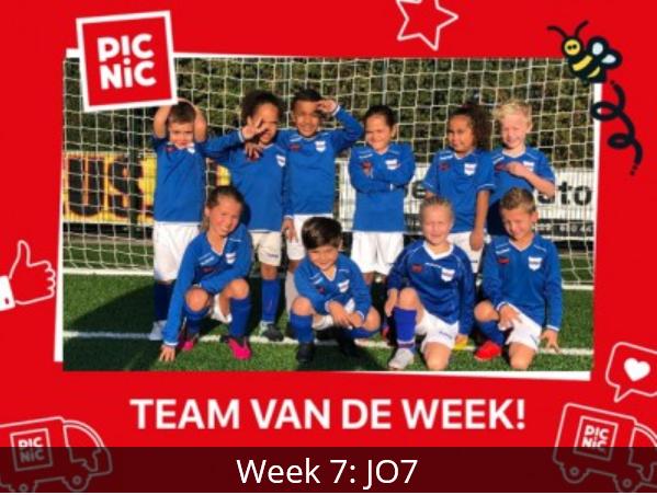 JO07-1 eerste Picnic team van de week