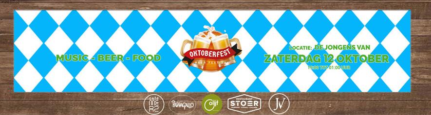 Oktoberfest 2019 sponsor van de wedstrijdbal